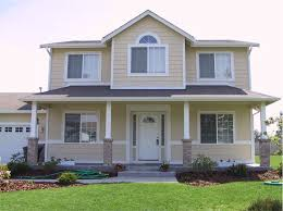 Refinancing Loan House Front